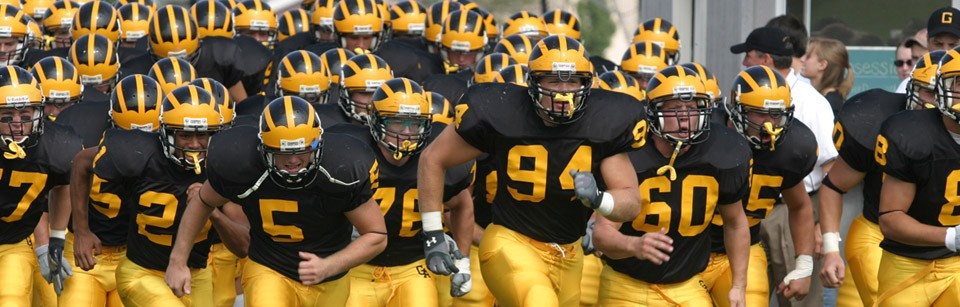 Football Team at Gustavus Adolphus College