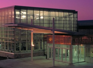 Athletic Center at Dusk at St. Olaf College