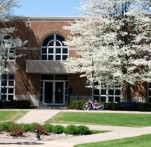 Campus in Springtime at Wartburg College