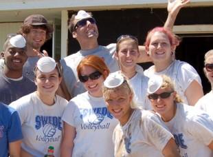 Bethany Students Volunteering