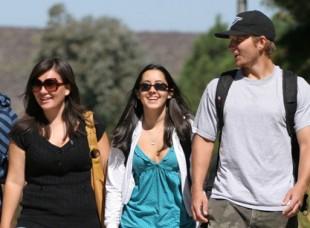 Students Walking on Campus at California Lutheran University